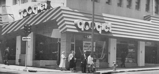 Googies coffee shop
